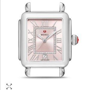 New Michele deco Madison watch head